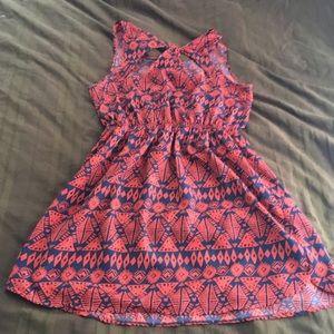 clothi Dresses - Tank top tribal print dress
